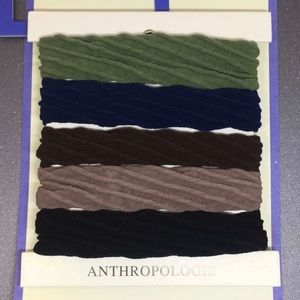 NWT Anthropologie Hairtie Set of 5